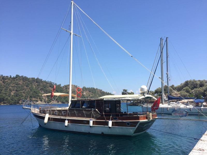 Göcek tekne 16 metre 6 kişilik mavi yolculuk gezisi