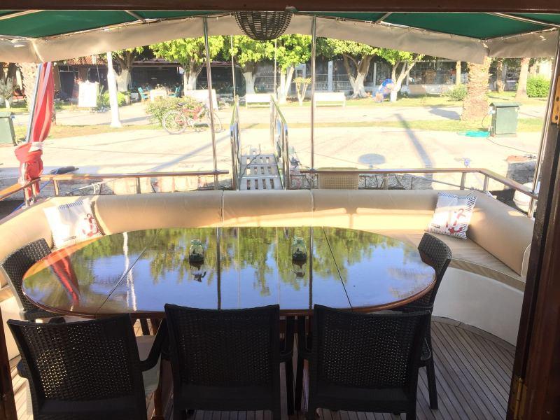 Göcek tekne 16 metre 6 kişilik tekne tatili