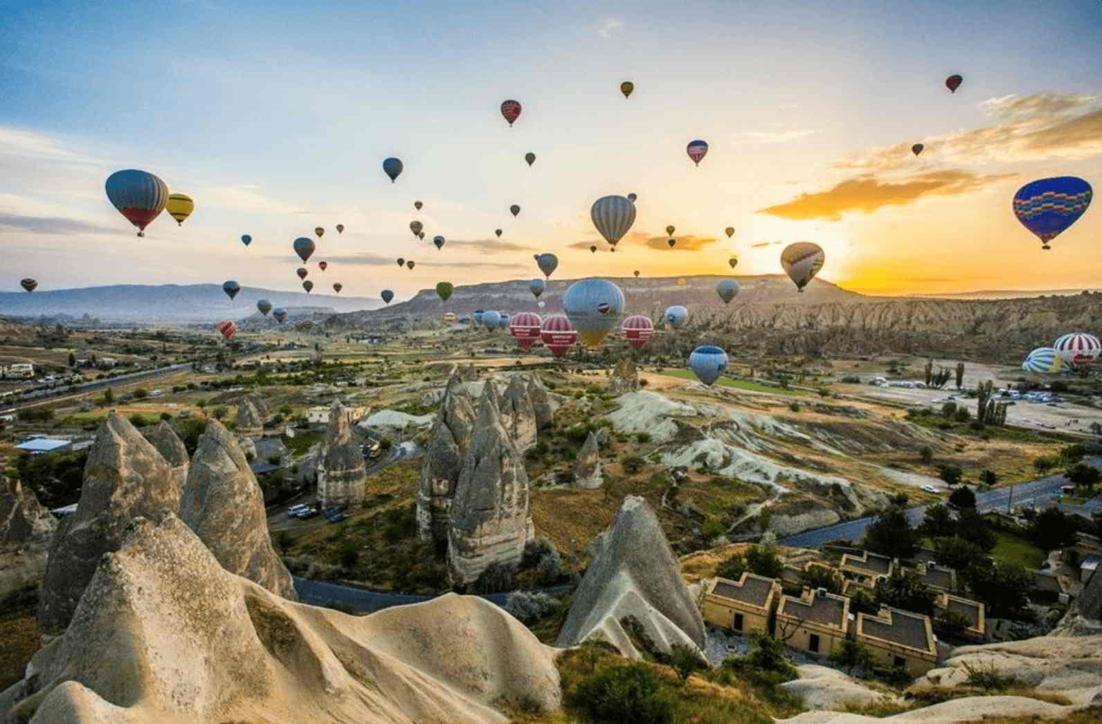 Kapadokya turları Gaziantep çıkışlı
