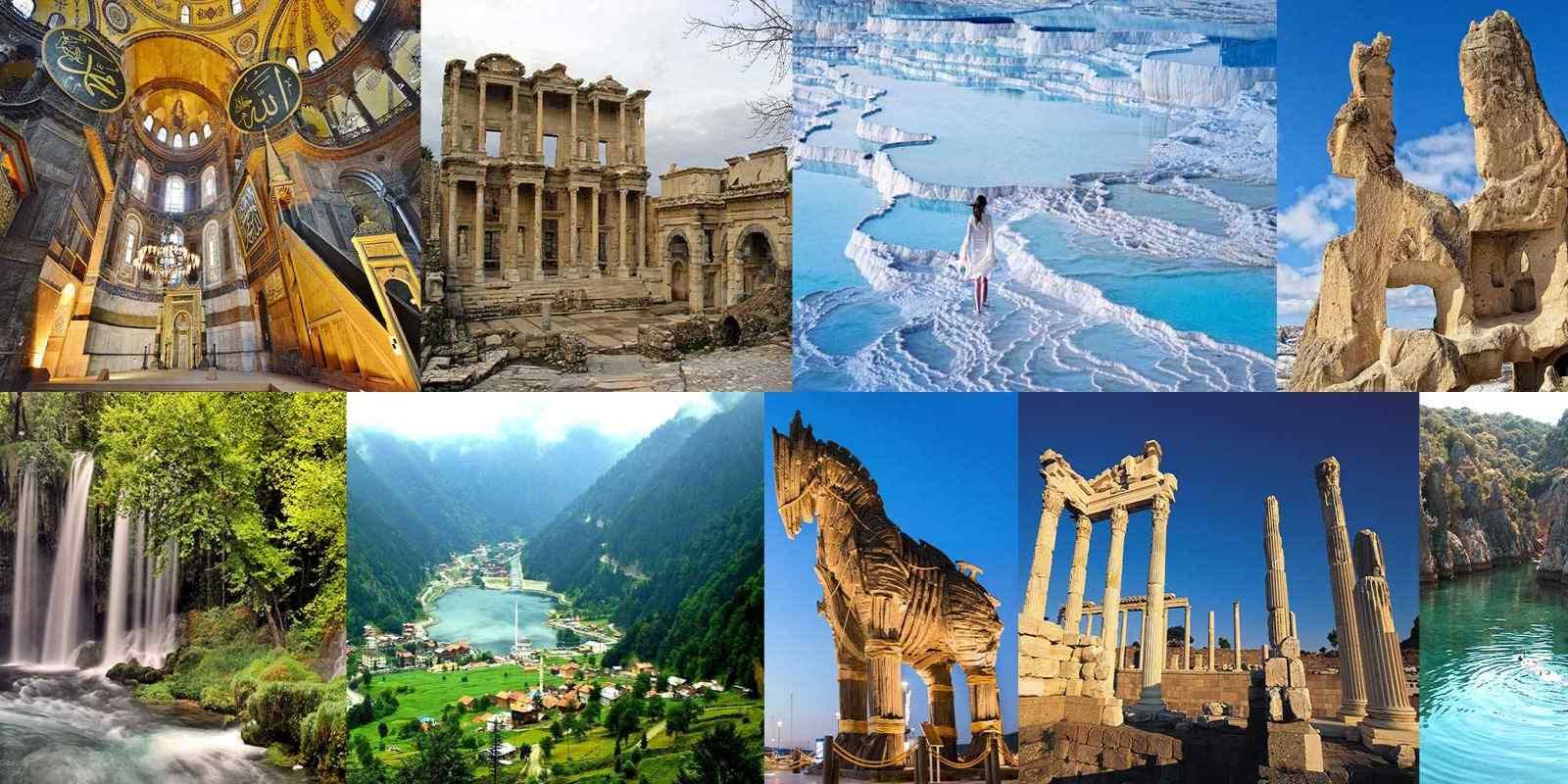 Karadeniz turu, Ege turu, Anadolu Turu